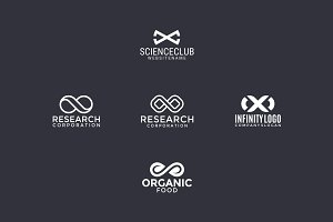 5 logos with infinity sign (3)