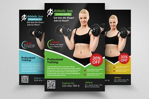 Body Fitness Gym Flyer