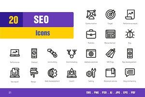 Seo Icons #1