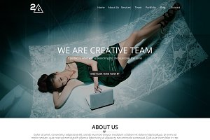 2k - Creative PSD Template