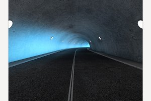 tunnel 3D rendering