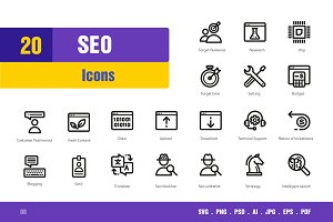 Seo Icons #8