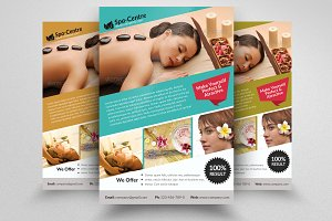 Beauty Spa Massage Flyer
