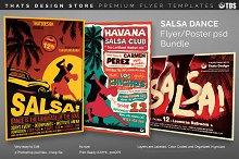 Salsa Dance Flyer Bundle