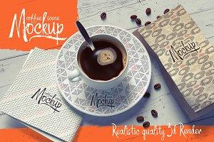 Coffee Scene Mockup
