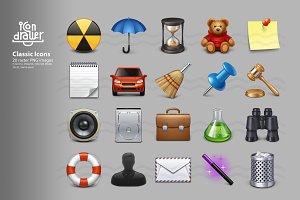 Classic icons (set 1)