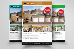 Real Estate Agency PSD Flyer