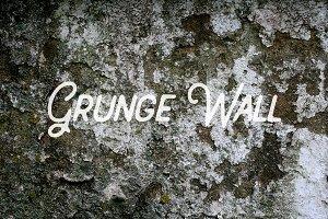 Grunge & Moss Cement Wall Textures