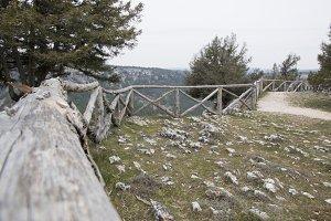 Viewpoint canyon of rio lobos