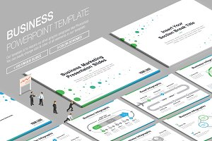 Business Powerpoint Template vol.4
