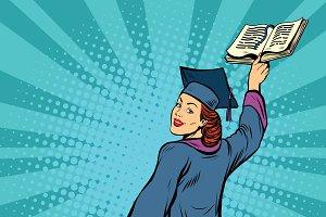 follow me, woman student education