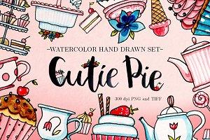 'Cutie Pie' raster set
