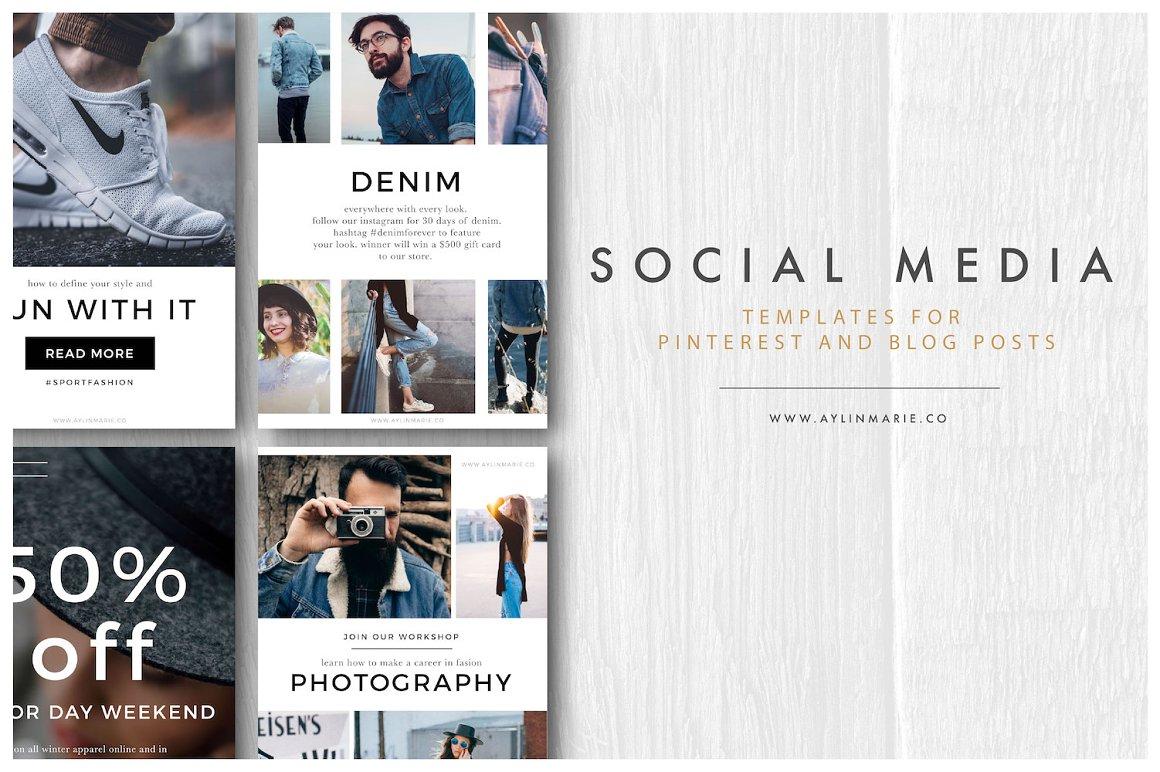 The Designer - Pinterest Templates