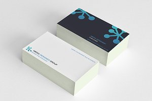 Simple Tech Business Card n Logo