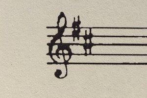 Sheet music score