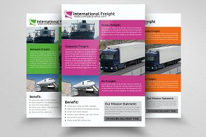 A4 International Freight Flyer