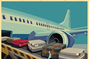 Civilian Aircraft and Baggage