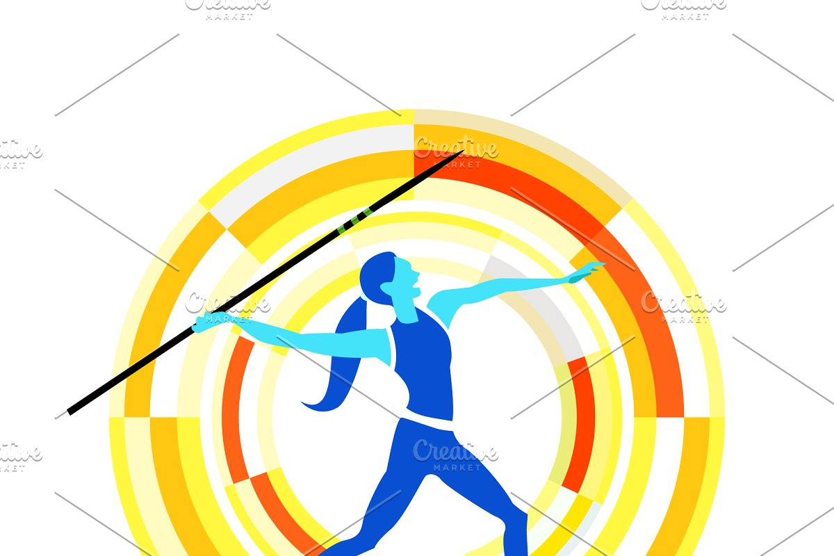 Sports disciplines illustrations in Illustrations - product preview 4