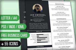 Resume/CV and Cover Letter: Jan