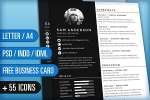 Resume/CV and Cover Letter: Sam