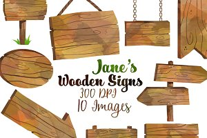 Wooden sign clipart photos graphics fonts themes for Wood sign making templates