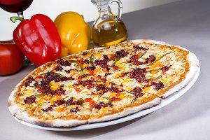 italian gourmet pizza