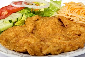 roas milanesa of chicken