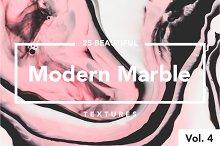 Modern Marble Ink Textures Vol. 4