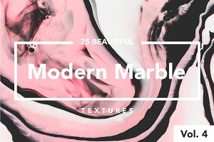 Modern Marble Ink Textures Vol. 4