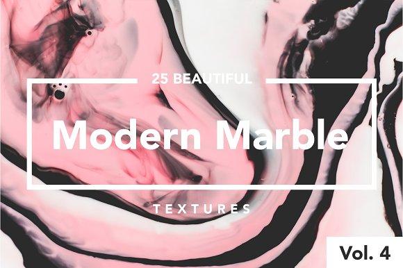 Modern Marble Ink Textures Vol. 4 - Textures