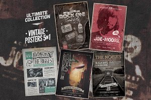 Ultimate Vintage Poster Bundle I