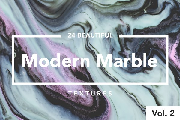 Modern Marble Ink Textures Vol. 2