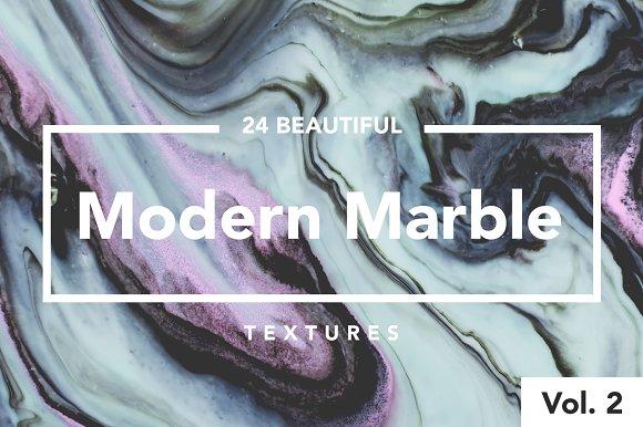 Modern Marble Ink Textures Vol. 2 - Textures