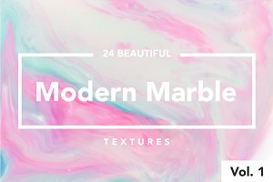 Modern Marble Ink Textures Vol.  1