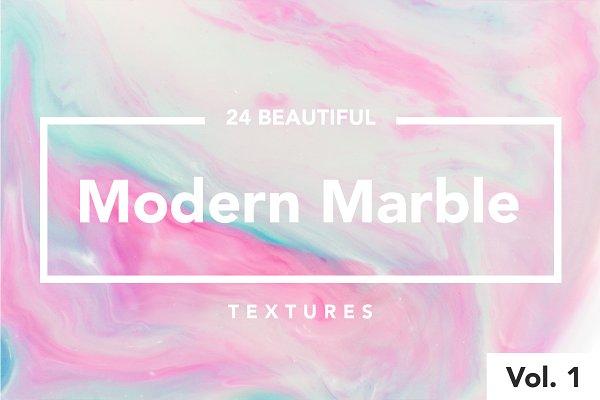 Modern Marble Ink Textures Vol.  1