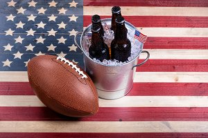 American Football and Beer