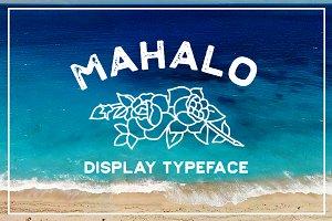 Mahalo - (INTRO SALE)