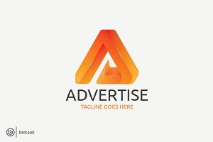 Advertise - A 3D Logo