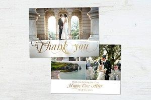 Wedding Thank You   Golden Days