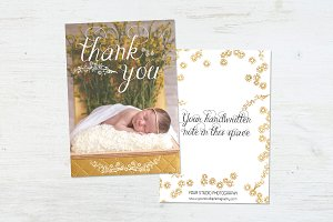 Newborn Thank You | Sleeping Beauty