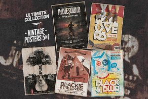 Ultimate Vintage Poster Bundle II