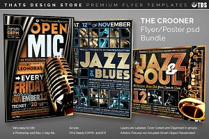 The Crooner Flyer Bundle