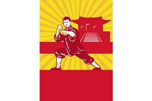 Shaolin Kung Fu Martial Arts Master