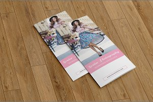 Trifold Photography Brochure-V578