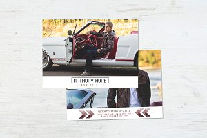 Graduation Card | Chevron