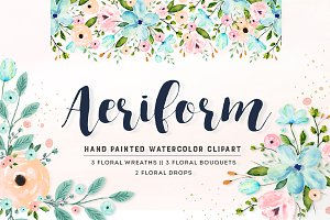 Flower Clip Art - Aeriform