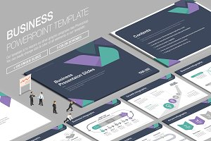 Business Powerpoint Template vol.5