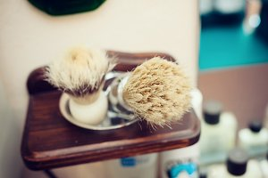 Brush shaving