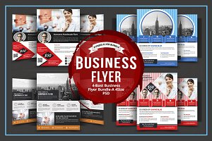Corporate Flyer Design Bundle