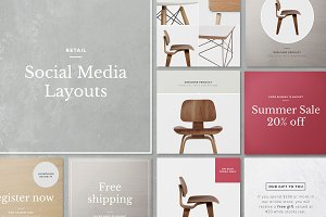 Social Media Layouts - Instagram